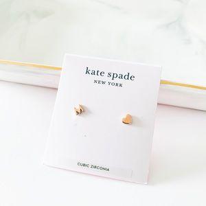 Kate Spade Dainty Initial Stud Earrings - M